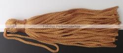 1 Stück Textil-Quaste (ca. 7,0cm) - mit Schlaufe - pumkin