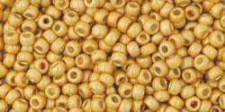 10 g TOHO Seed Beads 11/0 TR-11-PF557 F - Permanent Finish - Matte Galvanized Starlight (A,C,D)