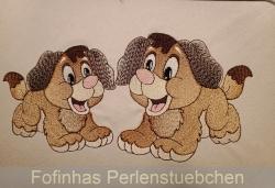 Stickdatei Hund Bruno