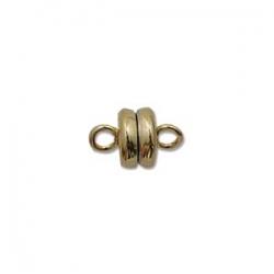 Magnetverschluss - 5x9 mm gold plate