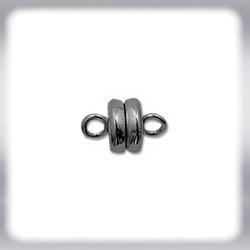 Magnetverschluss - 5x9 mm black oxyd