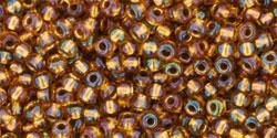 10 g TOHO Seed Beads 11/0 TR-11-1853 - Tr.-Rainbow Honey Comb (E)