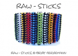 Anleitung RAW-Sticks Armband - deutsche Version