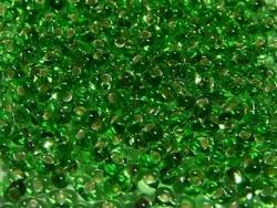 #26.00 - 10 g cz. Farfalle 4x2 mm tr. peridot silver-lined