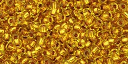 10 g TOHO Seed Beads 11/0 TR-11-0745 - Copper-Lined Marigold (A,E)