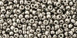 10 g TOHO Seed Beads 11/0 TR-11-0711 - Nickel (A,C,B)
