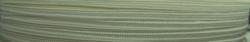 1 m Soutache 3mm - weiß - 100% Viskose