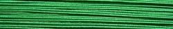 1 m Soutache 3mm - emerald - 100% Viskose