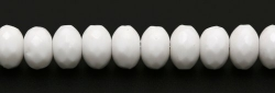 #02 - 20 Stück - 5*8mm Donut - Opak White