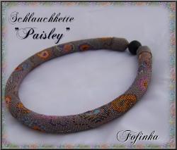 Schlauchkette Paisley als pdf