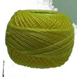 5g Spitzen-Häkelgarn Venus Stärke 70 N°541 lt yellow