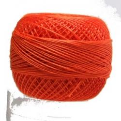 5g Spitzen-Häkelgarn Venus Stärke 70 N°176 Sunset Orange