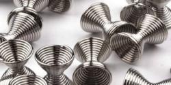 20 Stück Metallzwischenteile 8x11mm - Platin
