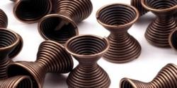 20 Stück Metallzwischenteile 8x11mm - Kupfer