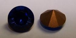 04 - 1 Stück Preciosa® OPTIMA Chaton SS39 (8mm) capri blue