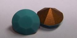 06 - 1 Stück Preciosa® OPTIMA Chaton SS39 (8mm) turquoise