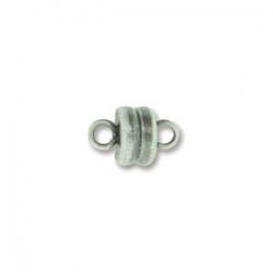 Magnetverschluss - 5x9 mm antique silver plate