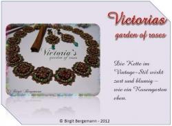 Anleitung Victorias garden of roses Kette - deutsche Version -