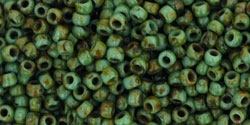 10 g TOHO Seed Beads 11/0 TR-11-Y307 - HYBRID Turquoise Picasso