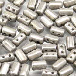 #07 10g Rulla-Beads opak chalk white jet lustre