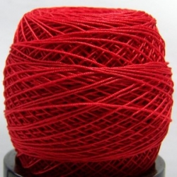 20 Gramm Häkelgarn - rot (3294) - N° 30
