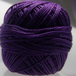 10 Gramm Stickgarn violett