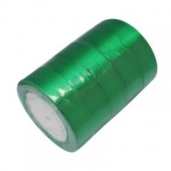 1 Rolle Satinband - grün - 25 mm