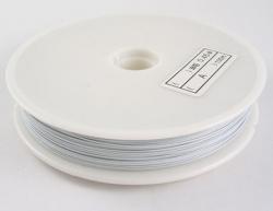 1 Rolle Tiger Tail nylonummantelt 0,38 mm - white - 50m