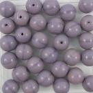 #20 25 Stück Perlen rund - Ø 8mm opak lavender