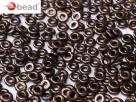 #22 5g O-Beads jet bronze