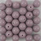 #20a 25 Stück Perlen rund - Ø 8mm opak lt lavender