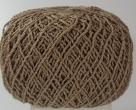 50 Gramm Wolle Poly - olivbraun