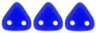 #04 10g Triangle-Beads 6mm - cobalt