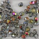 #04 25 Stück - 5,0 mm Glasschliffperlen - crystal marea