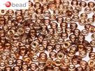 #29 5g O-Beads amethyst capri gold