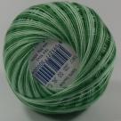 (61152) 30 Gramm Häkelgarn N° 20 hellgrün/grün