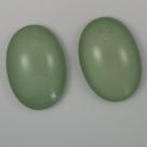 #27 - 1 Cabochon 25x18x7mm (LxBxH) - grün