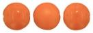 8 Stck. Pop Coins 14mm (4 hochglanz+4 matt) - Marigold