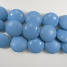 8 Stck. Pop Coins 14mm (4 hochglanz+4 matt) - Powder