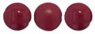 8 Stck. Pop Coins 14mm (4 hochglanz+4 matt) - Cranberry