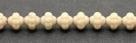 #13 25 Stück Fizgigs - Ø 6 mm - op. beige