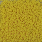 #149 10 Gramm Rocailles opak sunshine 9/0 2,6 mm