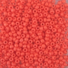#151 10 Gramm Rocailles opak salmon orange 9/0 2,6 mm