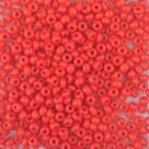 #152 10 Gramm Rocailles opak cherry red 9/0 2,6 mm
