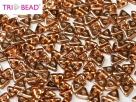 #10 5g Tri-Beads 4mm rosaline capri gold