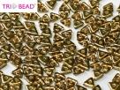 #11 5g Tri-Beads 4mm rosaline amber