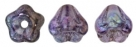 #02.05 50 Stück Glockenblumen 4x6 mm tr. amethyst vega