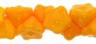 #06.03 50 Stück Button Flower 7 mm sunflower yellow