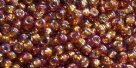 10 g TOHO Seed Beads 11/0 TR-11-2034 - Silver-Lined Rainbow Topaz