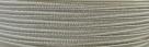 1 m Soutache 3mm - natur - 100% Viskose